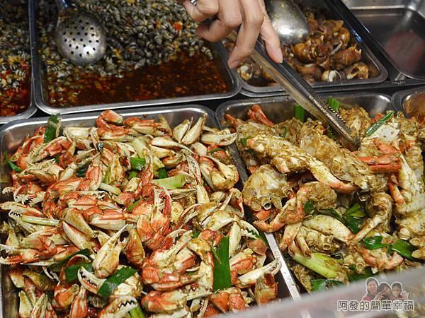 板橋宋家08-蟹肉與蟹腳