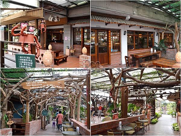 台北花卉村18-森林派對咖啡館-組圖