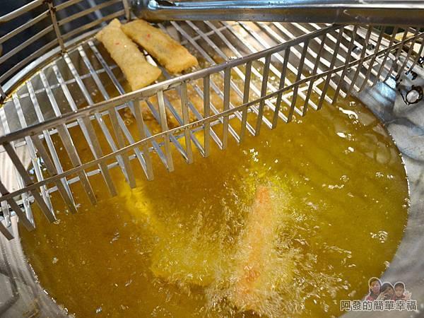 騎士現炸起司捲08-乾淨的油鍋