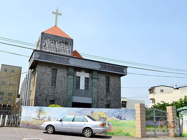 坑口彩繪村42-海山路上的教會