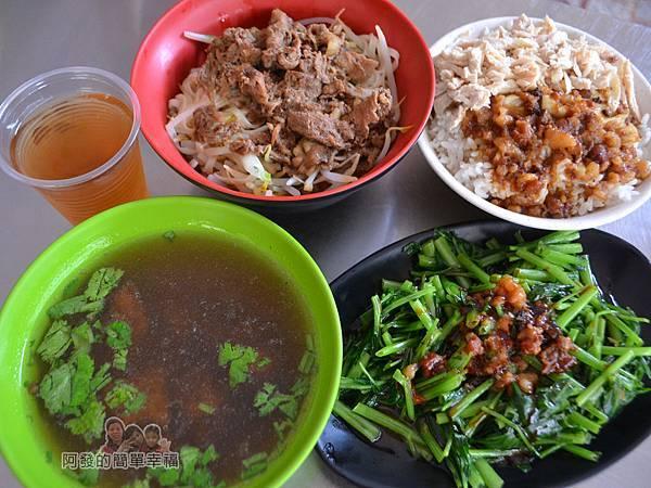 大台北阿松的店07-午餐上桌