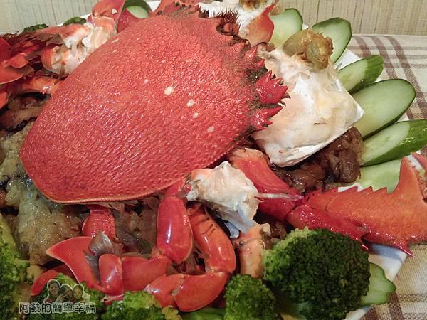 肉粽變螃蟹米糕10-螃蟹米糕側寫