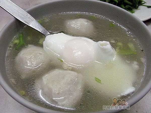 中和無名福州乾拌麵15-虱目魚丸蛋包湯