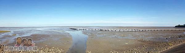 新竹市香山-風情海岸10-香山濕地賞蟹步道長約250公尺