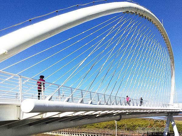 新竹市香山-豎琴橋08-豎琴橋當然外貌似豎琴