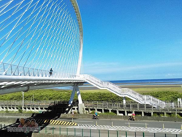 新竹市香山-豎琴橋09-豎琴橋側寫