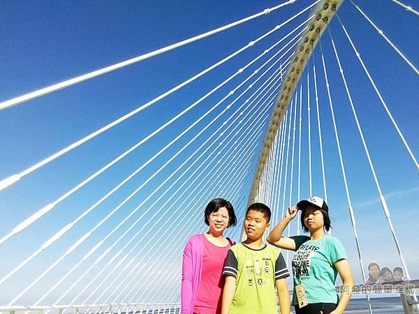 新竹市香山-豎琴橋16-橋上留影