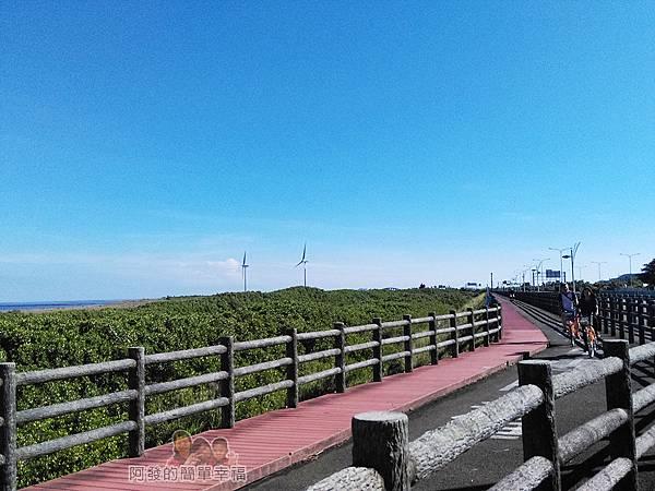 新竹市香山-豎琴橋30-新竹17公里海岸線自行車道-Ubike