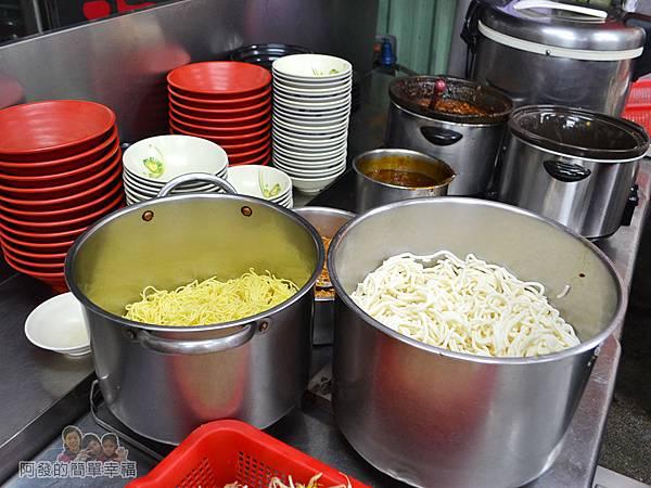 環南米苔目09-麵飯燙青菜區