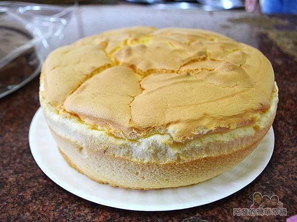 海山餅店15-傳統布丁蛋糕外觀