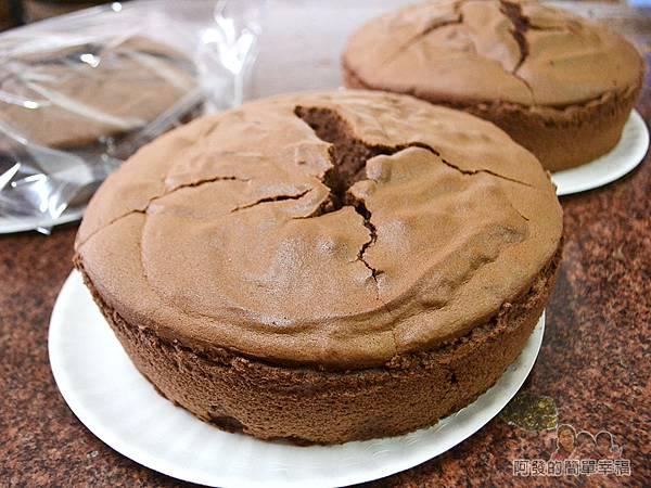 海山餅店16-傳統布丁蛋糕(巧克力)