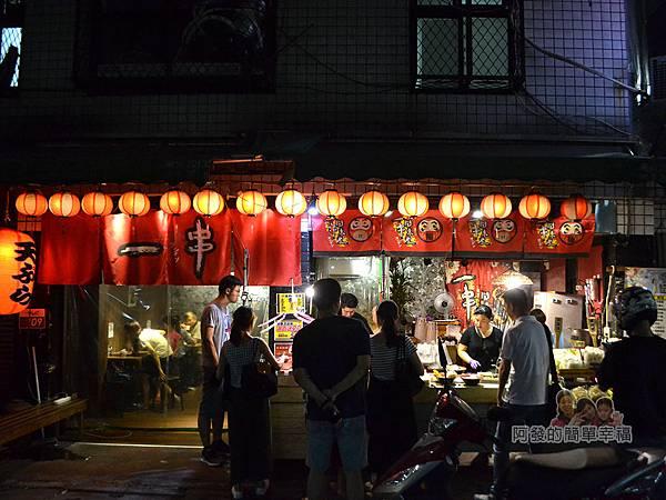一串日式關東煮02-店前人潮