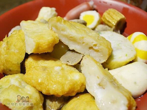 一串日式關東煮36-火鍋料與甜不辣