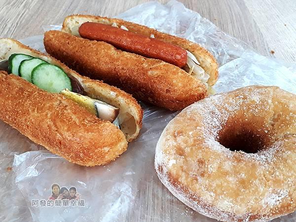 溫不一樣三明治甜甜圈08-銅版美食上桌