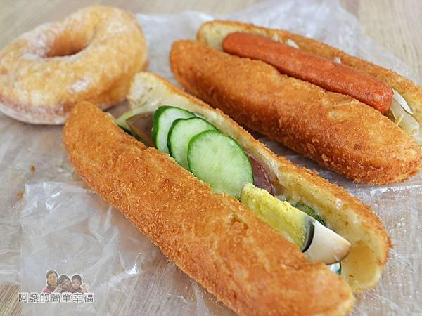 溫不一樣三明治甜甜圈09-銅版美食上桌II