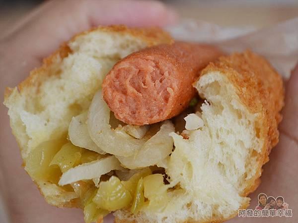 溫不一樣三明治甜甜圈16-營養三明治鹹-切面