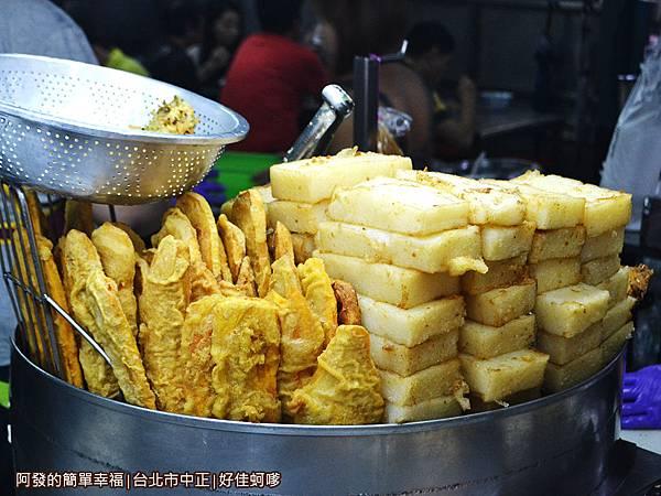 好佳蚵嗲05-炸過的蘿蔔糕與番薯片.JPG