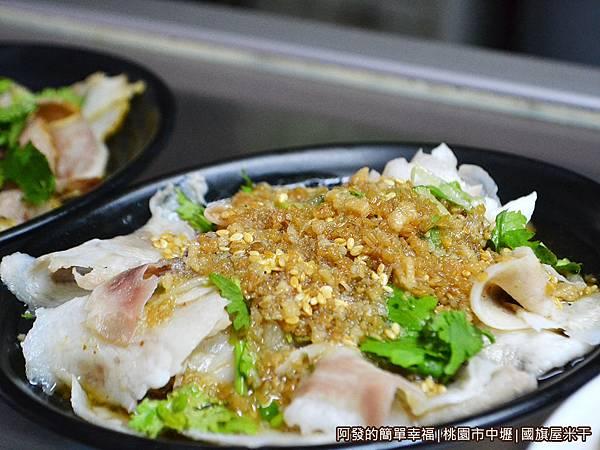 國旗屋米干10-小菜-大薄片