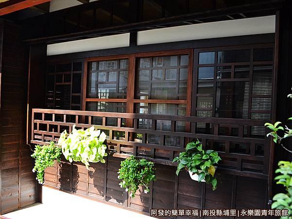 永樂園青年旅館02-濃濃日治時期的古早木屋風格