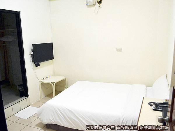 永樂園青年旅館28-經濟2人房(一大床)