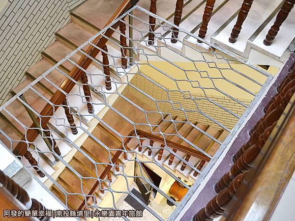 永樂園青年旅館30-樓梯間一隅