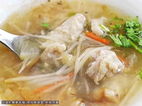 阿菊肉圓25-肉羹湯