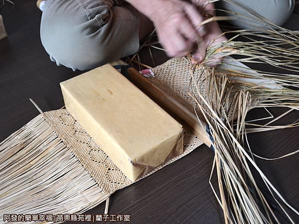 藺子工作室04-藺草飾品純手工編織