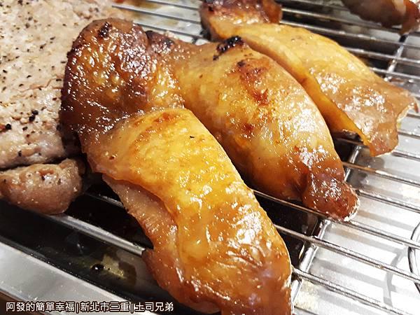 土司兄弟11-烤雞腿肉