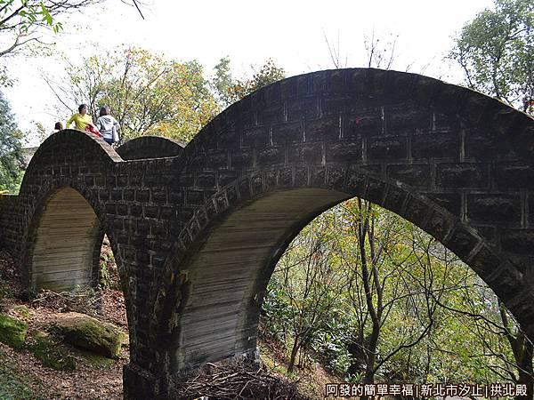 汐止拱北殿33-雙拱橋外觀
