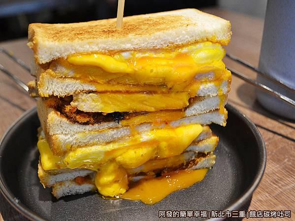 餓店碳烤吐司20-厚切豬排肉蛋