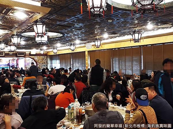 海釣族真味園09-滿滿滿的用餐人潮