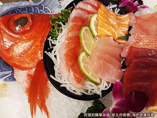海釣族真味園12-綜合海釣魚