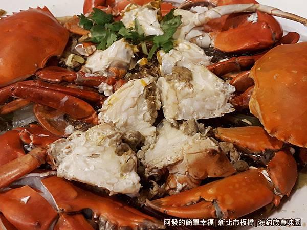 海釣族真味園18-肥蟹扒銀絲