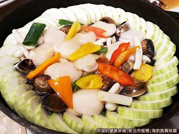 海釣族真味園21-香蒜燴干貝