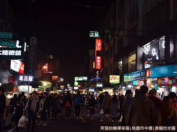 中原夜市01-比想像的大且還多人潮