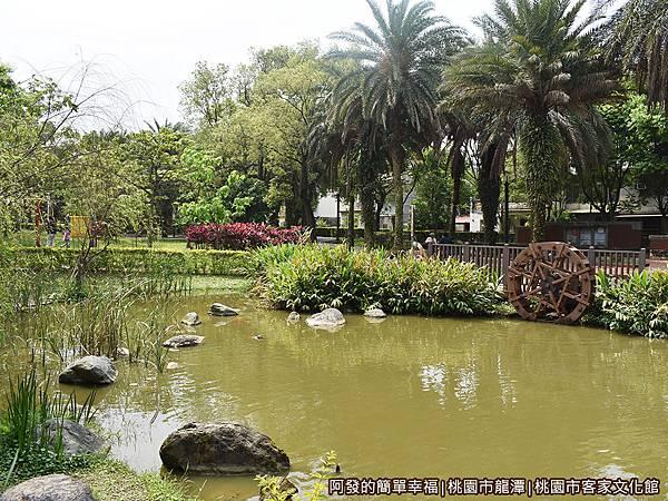 桃園市客家文化館31-池畔景色