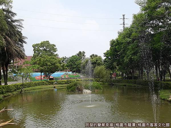 桃園市客家文化館35-池畔景色