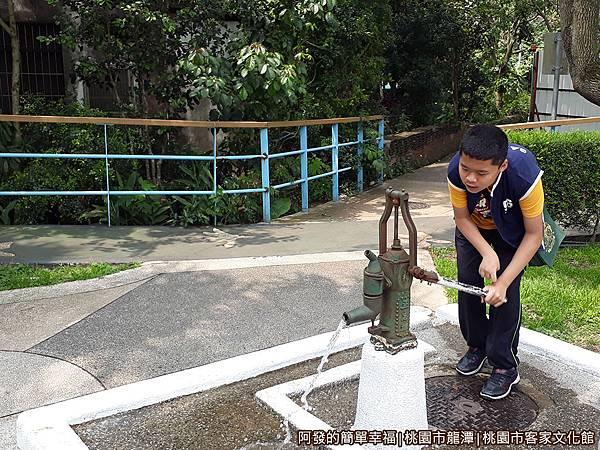 桃園市客家文化館37-傳統手壓井水器