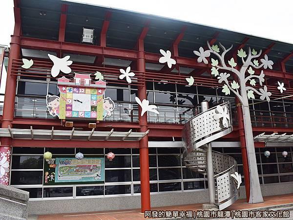 桃園市客家文化館03-特展室文學館音樂館複合大樓