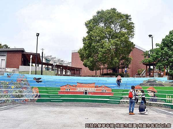 桃園市客家文化館27-後廣場階梯