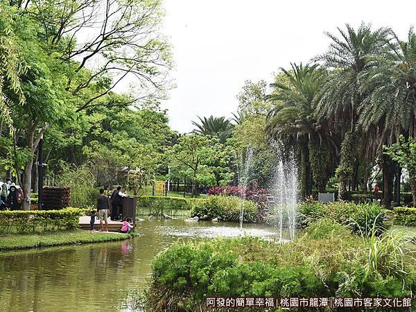 桃園市客家文化館28-生態公園中的池塘