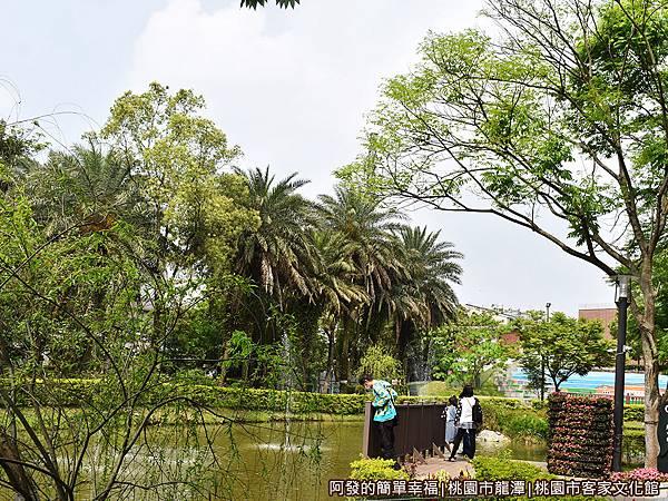 桃園市客家文化館29-池畔景色