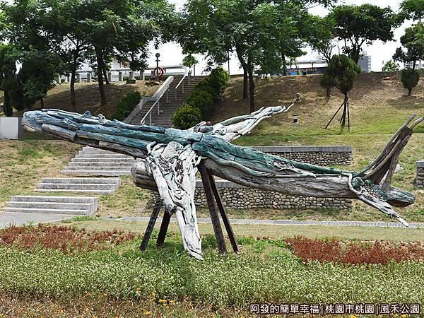 風禾公園15-漂流木飛機-飛行森林.JPG