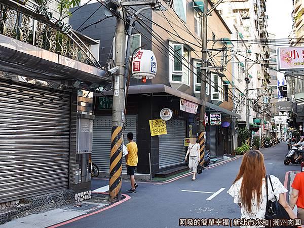 潮州肉圓01-隱身在巷弄間的巷弄.JPG