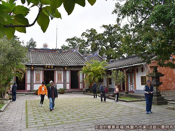 法鼓山齋明寺08-170年歷史三合院古剎.JPG