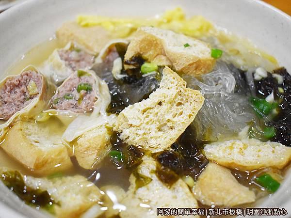 新北市板橋-明園江浙點心21-油豆腐細粉.JPG