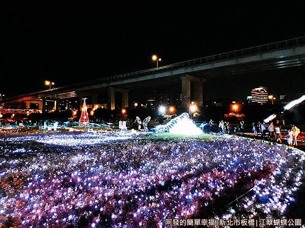 江翠蝴蝶公園02-50萬顆LED燈所打造的光之饗宴.jpg