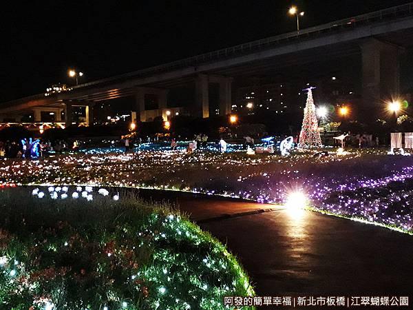 江翠蝴蝶公園08-漫步於光雕步道.jpg