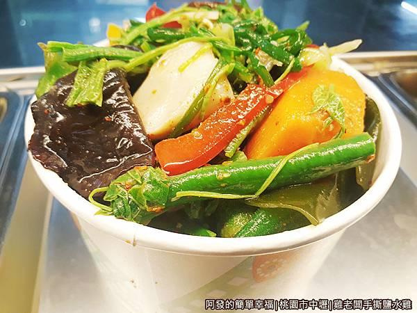 雞老闆手撕鹽水雞19-小菜青菜.jpg