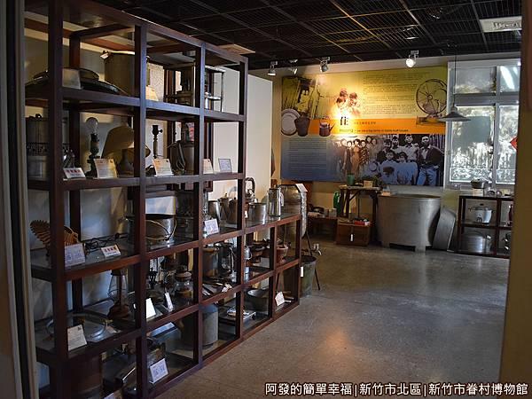 新竹市眷村博物館24-眷村生活寫實展區入口.JPG